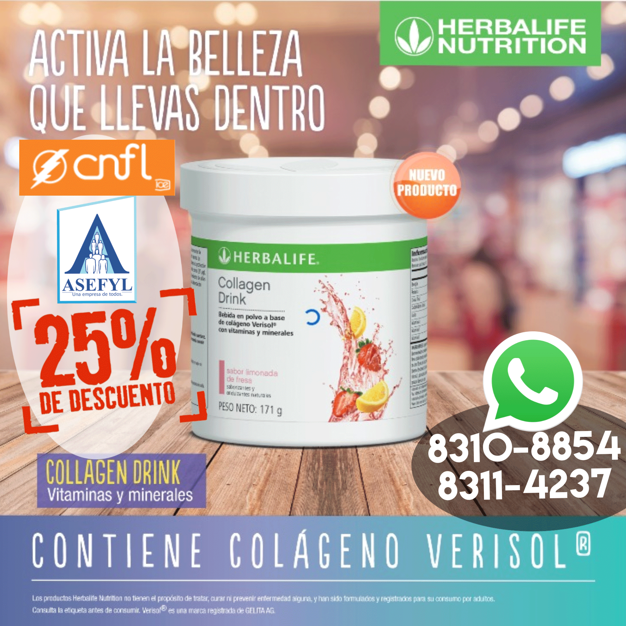 Herbalife-Colageno-Verisol