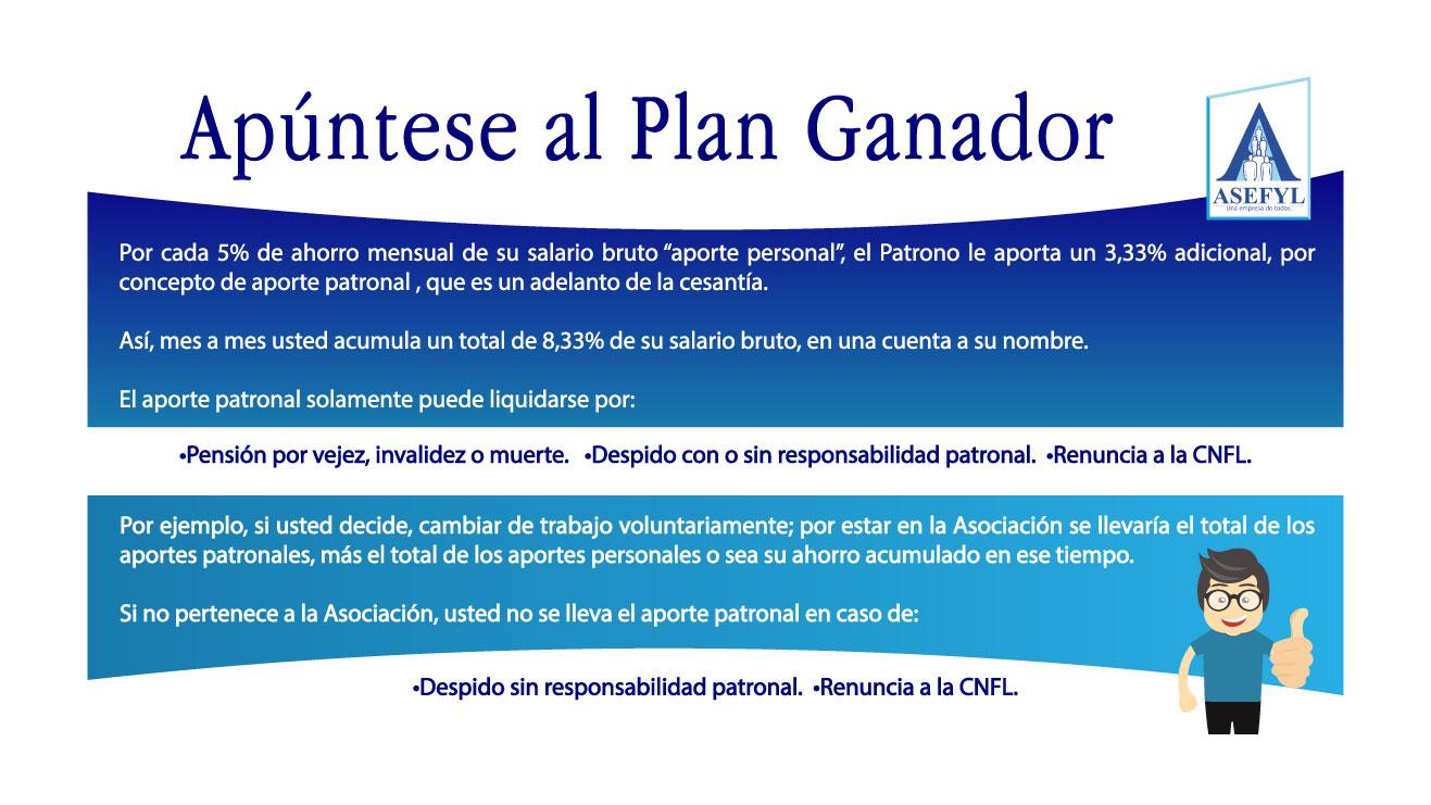 Apúntese al Plan Ganador