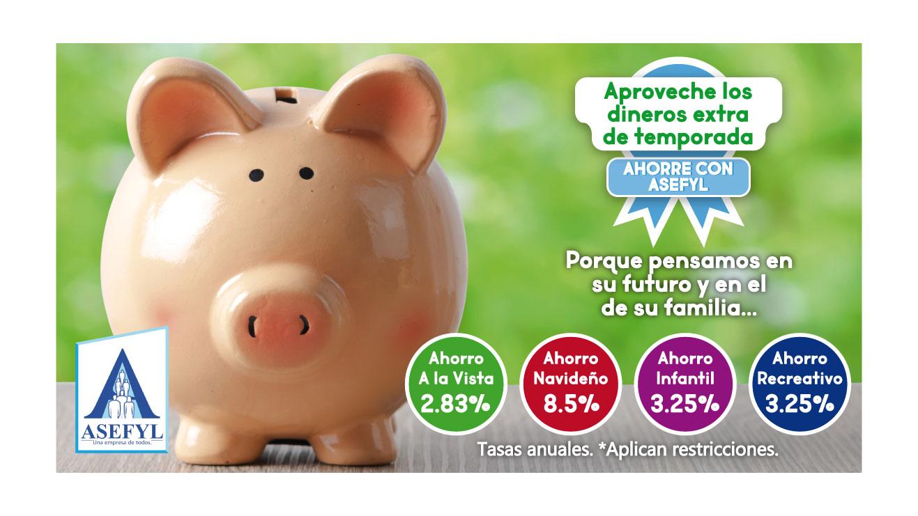 Ahorros ASEFYL