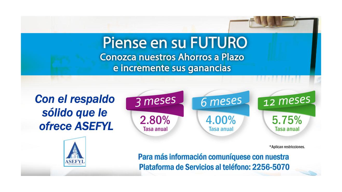 Certificados a Plazo ASEFYL