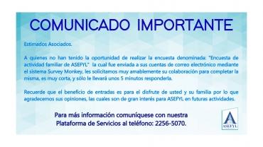 Comunicado importante 28-1-21