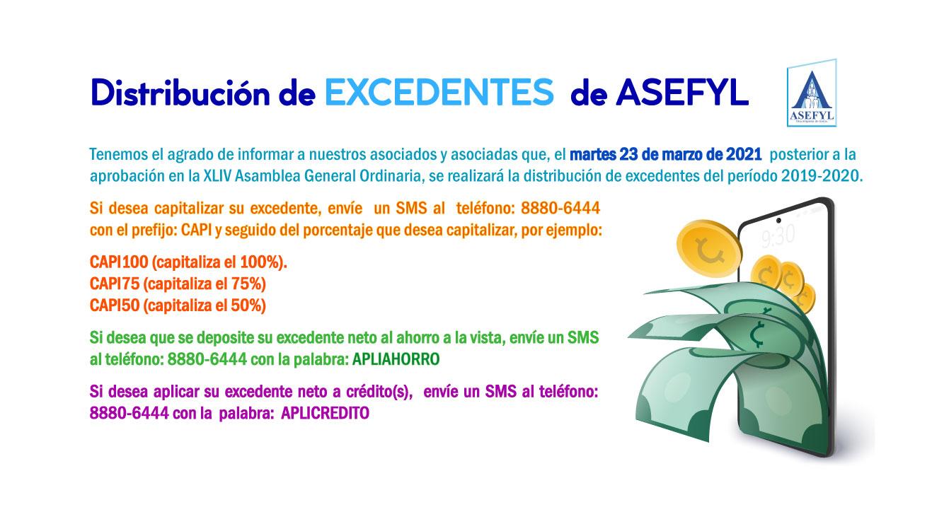 Distribución de Excedentes de ASEFYL