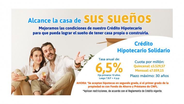 Crédito Hipotecario Solidario.