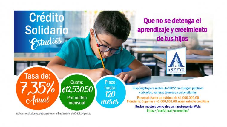 Crédito Solidario Estudios