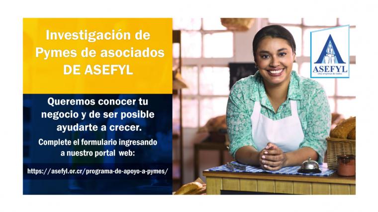 Investigación de Pymes de asociados de ASEFYL.