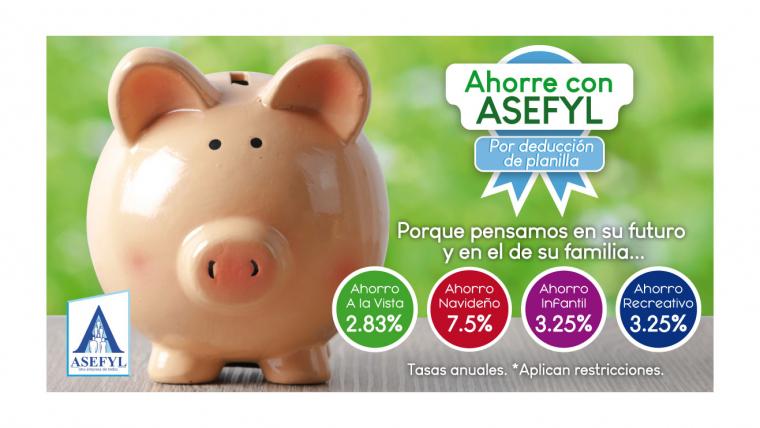 Ahorros extraordinarios de ASEFYL